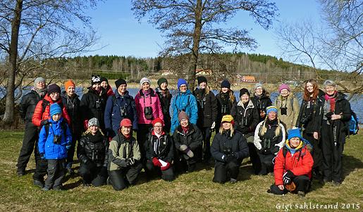 """23 Rapphönor och en blivande """"Rapptupp"""" slöt upp på """"Möt sånglärkan""""."""